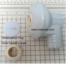 "Lomart - Doughboy - Return Inlet Kit 1.5"" Grey for Lomart Doughboy Embassy - 1121-1300"