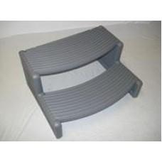 Confer Plastics Spa Step Hs-Dg Handi-Step Dark Grey - HS2-DG