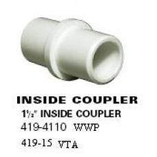 "Waterway PVC Magic Inside Coupler 1.5"" - 419-4110"