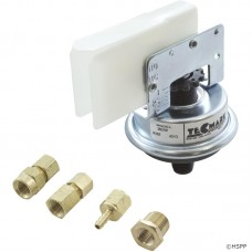 "ALA Pressure Switch 1/8"" Thread 25amp w/ Brass Adapters"