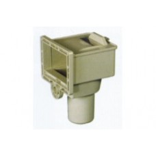 Complete Skimmer Assembly Beige / Almond 0-2091-013 fits Doughboy Embassy and Lomart Pools
