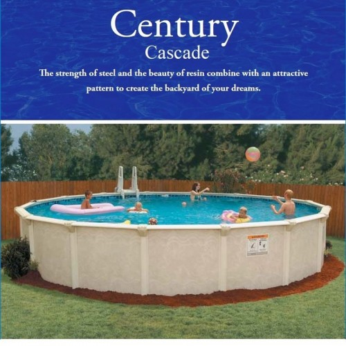 Doughboy Century Cascade Oval 16\'x24\' Swimming Pool by Embassy