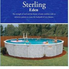 Embassy Sterling Oval 18'x34' Pool by Doughboy