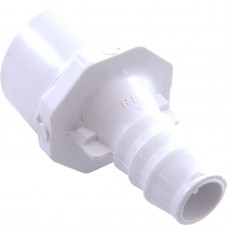 """Waterway Barb Adapter 1.25Spg 1""""Skt X 3/4"""" Ribbed Barb - 672-4320"""