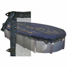 GPC Leaf Guard AG Round 24' Leaf Net | Cool Covers