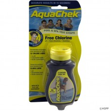 Aquachek Test Strips Chlorine Yellow 50Ct - 511242A