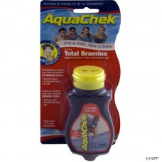AQC Test Strip Bromine 50ct Red for Spas or Pools