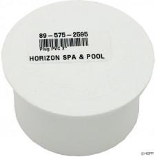 "Spears PVC Plug 2"" Slip Inside PVC Cap for Manifold - 715-9880"