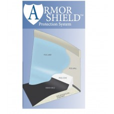 GLI Armor Shield Swimming Pool Liner Pad for Oval 18'X33' Above Ground Pools - 70-1833OV-BLK-160