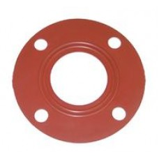 "AMG GASKET FLANGE 6"" RED for PVC Pipe"