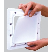 Super Pro Lid'L Seal Skimsaver Above Ground Pool Skimmer Cover And Faceplate - AG1090