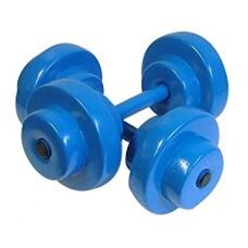 Texas Rec Bar Bells Pair Blue - 8910026