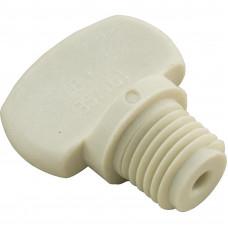 """Pentair Drain Plug 1/4"""" Almond - 071131Z"""