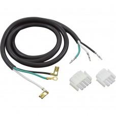 Hydro-Quip Spa Power Cord 3 & 4 Pin Amphenol 15 Amp 115/230 Volt - 30-0324-48