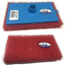 Adjust A Brush Scrub Pad Medium without Hand Knob, Red - PROD077