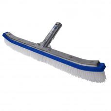 """Blue Devil Swimming Pool Brush 18"""" Aluminum Back - B3518"""