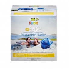 Spa Frog @Ease System - Mineral & Chlorine Floater with Test Strips / Jump Start - 01-14-3256