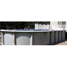 "Evolution CLX 52"" 18'x33' Oval Pool Kit - Steel 9"""