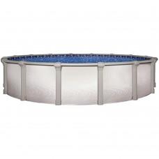 "Morada 15' Round 52"" Hybrid Resin Pool Kit"