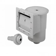 Poolstyle Skimmer Assembly Standard Grey for Above Ground Pools - PS001