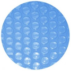 Poolstyle Solar Cover Blanket Ag 4Yr 28' Clear Blue 8Mil