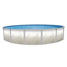 """Pretium GLX 52"""" 18' Pool Package - 6"""" Steel Pool Frame"""