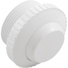 """Custom Molded Eyeball Assembly Slotted White w/ 1.5""""mpt like SP1419A - 25552-000-000"""