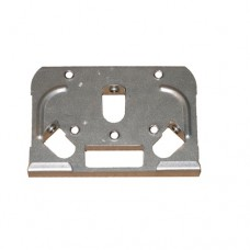 """Asahi Pools Vertical End Plate, 6"""" for 5/8"""" Rail Track Top Plate Bottom Plate - 2167"""