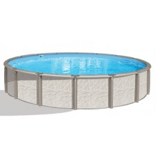 "Azor 54"" 24' Pool  Kit - Full Resin - Salt Water Friendly"