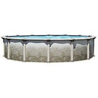 """Mission 24' 54"""" Resin Hybrid Swimming Pool Package"""