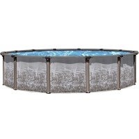 "Regency LX 54"" 24' Pool Package - Resin Hybrid Salt Friendly"
