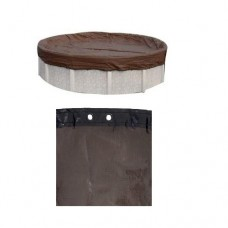 Pooltux Ultra Premium Round 33' Above Ground Pool Winter Cover 25 Year Warranty - BB0033