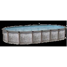 "Regency LX 54"" Oval 12'x23' Pool Package - Hybrid Salt Friendly"