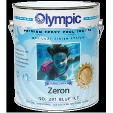 Olympic Zeron Blue Ice Gallon Epoxy Pool Paint - 391-G