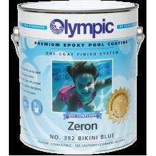 Olympic Zeron Bikini Blue Gallon Epoxy Pool Paint - 392-G